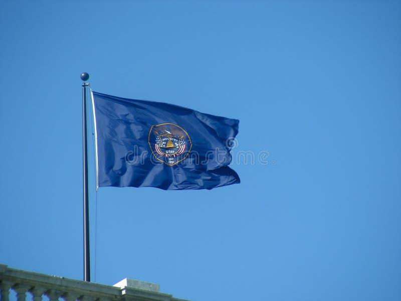 Utah Flag royalty free stock photos