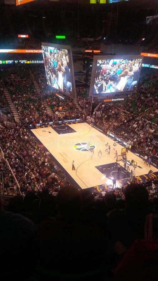 Utah Jazz fotografia stock