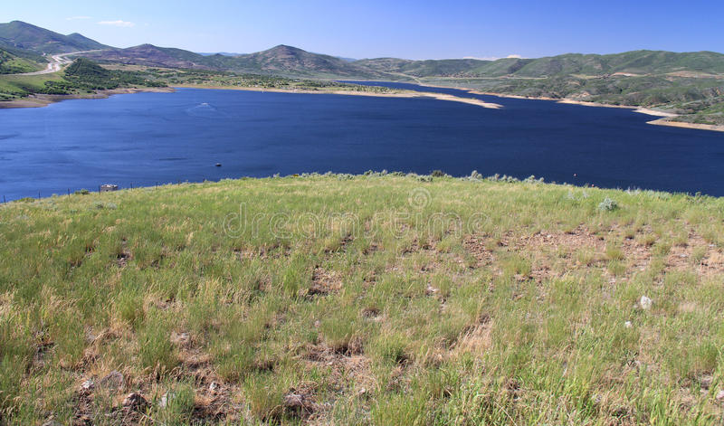Utah: Jordanelle Reservoir royalty free stock photos