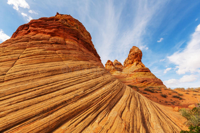 Utah Krajobrazy obrazy royalty free