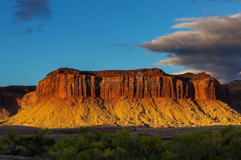 Utah Krajobrazy fotografia royalty free