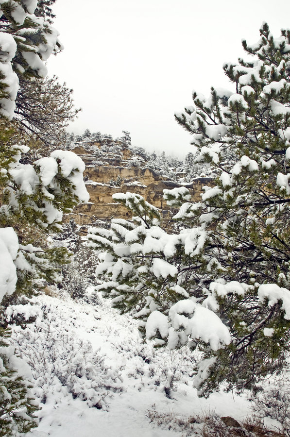 Download Utah Mountains in Winter stock image. Image of cold, county - 7616757