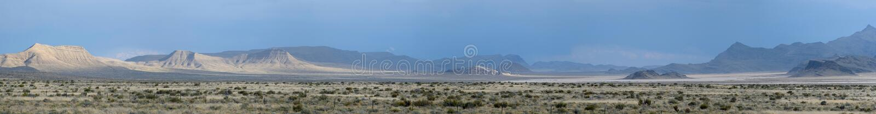 Utah/Nevada landscape panorama royalty free stock photo