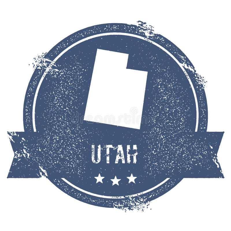 Utah ocena ilustracja wektor