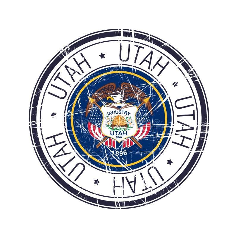 Utah piecz?tka royalty ilustracja