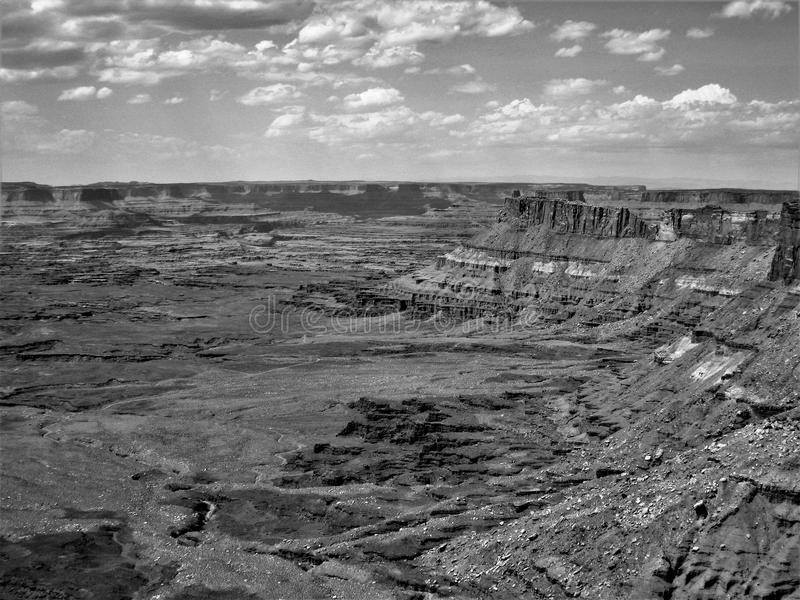 Utah`s Canyon Rims Recreation Area. Canyon Rims Recreation Area, an outdoor lovers playground, includes 100,273 acres south of Moab in southern Utah royalty free stock image