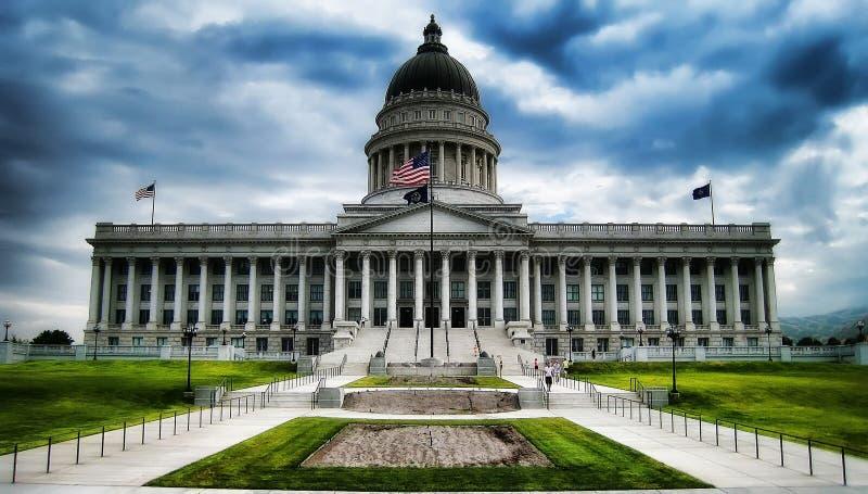 Utah statKapitolium Salt Lake City royaltyfri foto