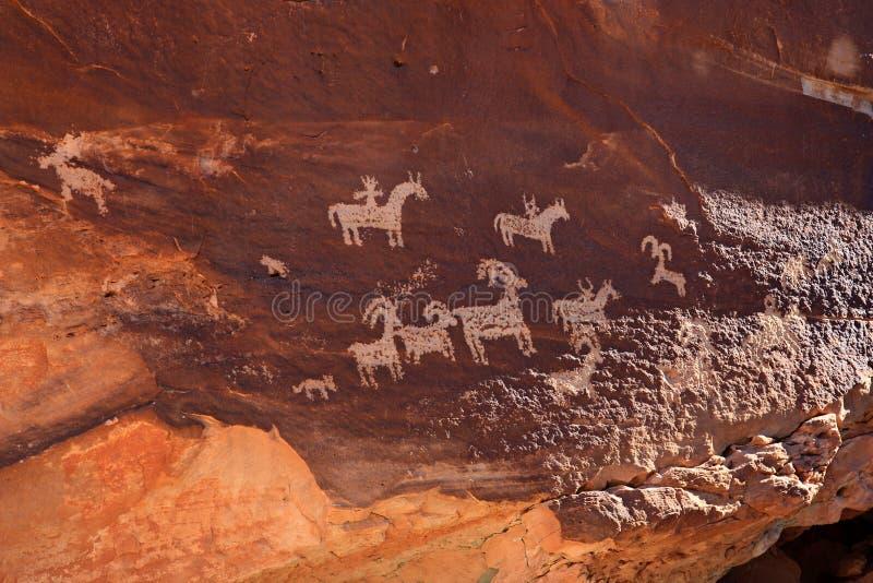 Utah vaggar konst arkivfoton