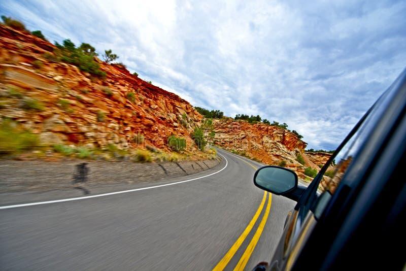 Utah wjazd zdjęcie stock