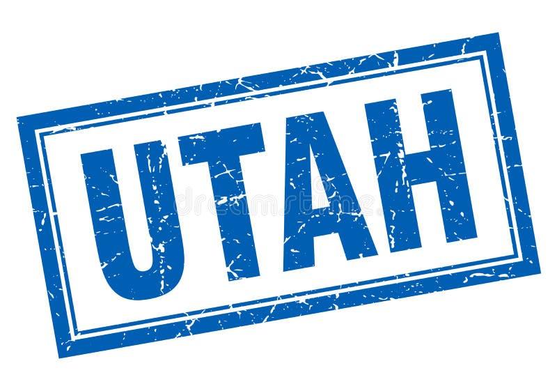 Utah znaczek royalty ilustracja