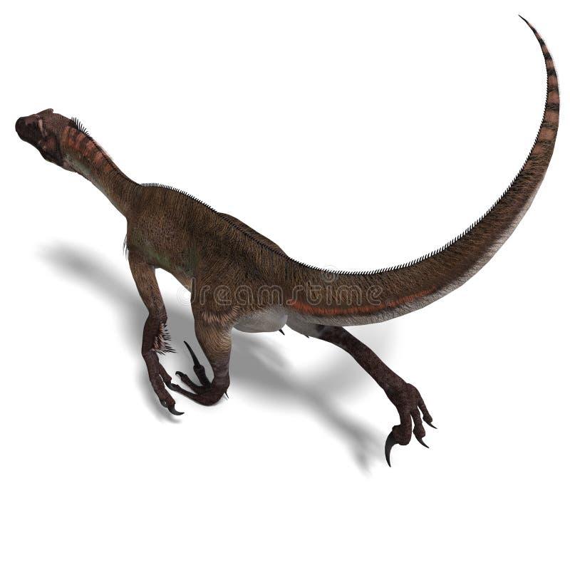 utahraptor динозавра бесплатная иллюстрация