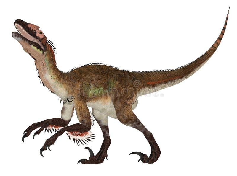 Utahraptor ilustração do vetor