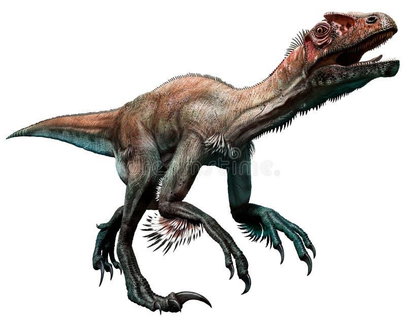 Utahraptor stock illustratie