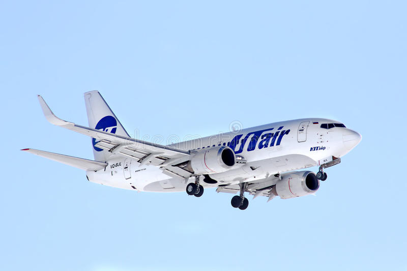 UTair Boeing 737 obrazy stock