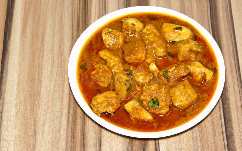 Utan ben feg curry för indisk stil royaltyfria bilder