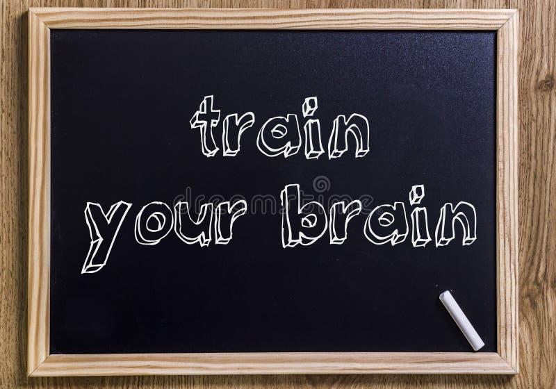 Utbilda din hjärna arkivfoton