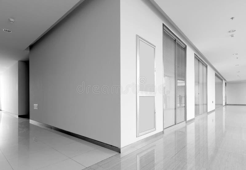 Utbildande rumkorridor royaltyfria foton