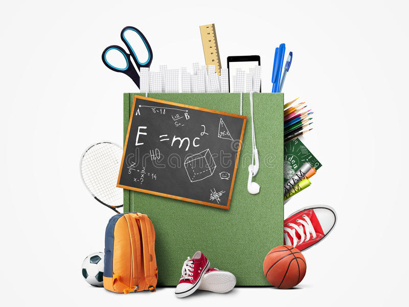 Utbildning stock illustrationer