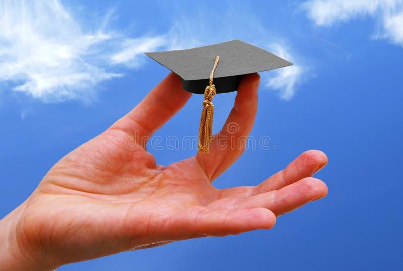 Utbildning och framgång royaltyfri bild