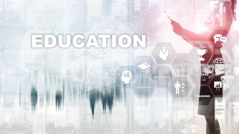Utbildning som l?r, studiebegrepp сapacityutveckling Utbildande personlig utveckling Aff?r f?r blandat massmedia arkivfoto