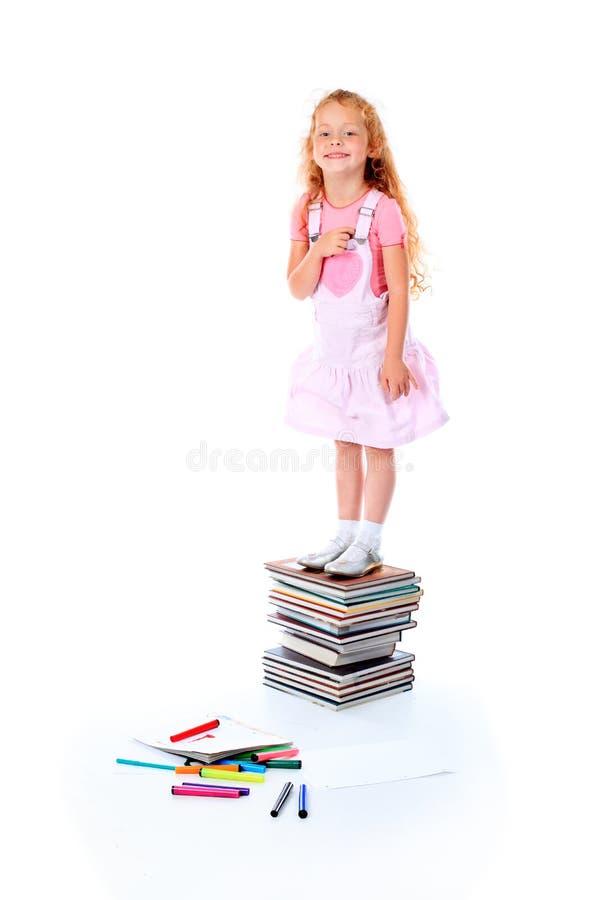 utbildningsöverkant royaltyfri bild