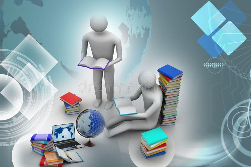 Utbildningsbegrepp vektor illustrationer
