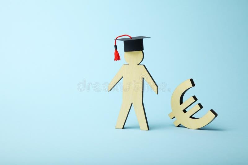 Utbildningskostnad i h?gskola och skola Studentfond royaltyfria bilder