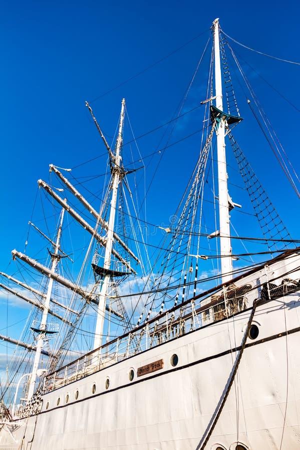 Utbildningsskepp Gorch Fock royaltyfri bild