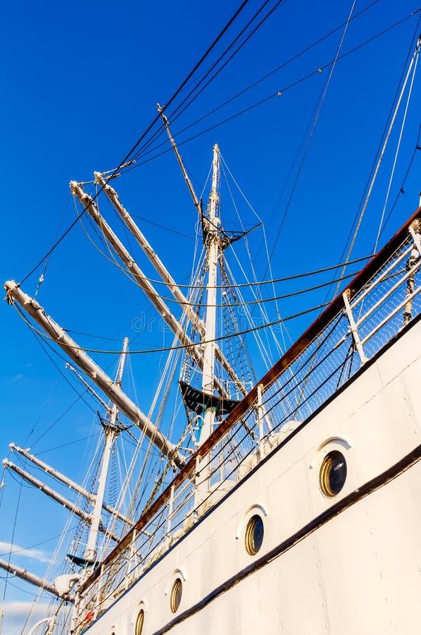 Utbildningsskepp Gorch Fock royaltyfri fotografi
