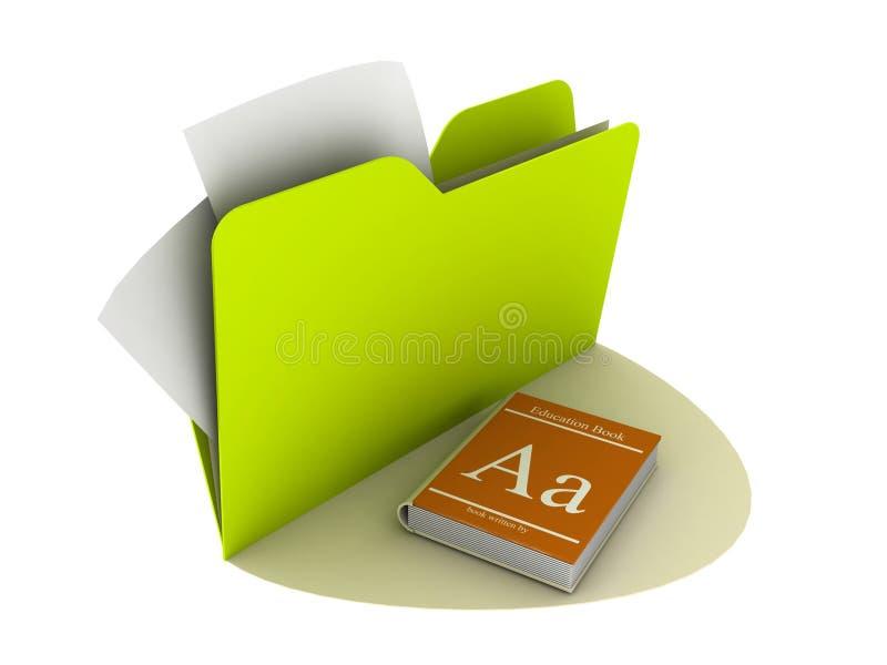 utbildningssymbol stock illustrationer