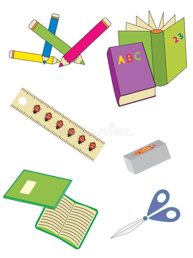 utbildningssymboler royaltyfri illustrationer