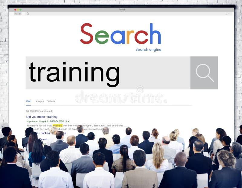Utbildningsutvecklingsexpertis som lär förbättringsutbildning Concep royaltyfria foton