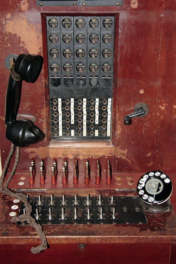 utbytestelefon royaltyfria bilder