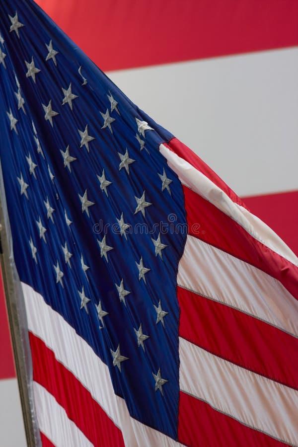 utbytet flags det nya materielet york royaltyfria foton