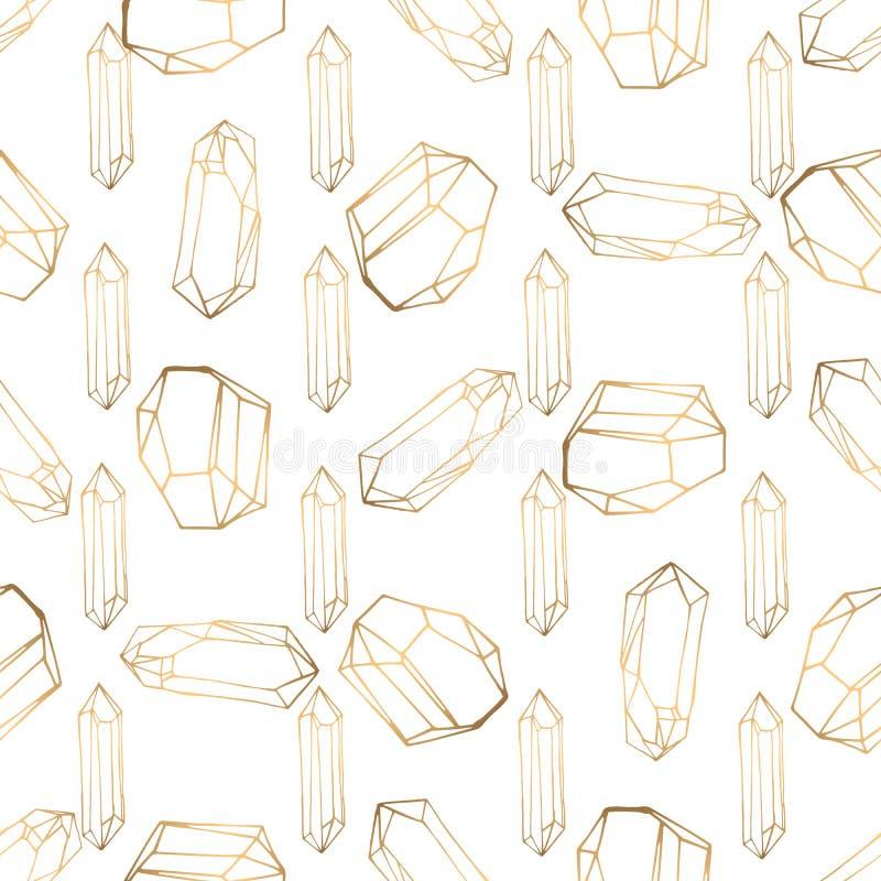 Utdragen s?ml?s modell f?r hand med jewerly och blom- best?ndsdelar royaltyfri illustrationer