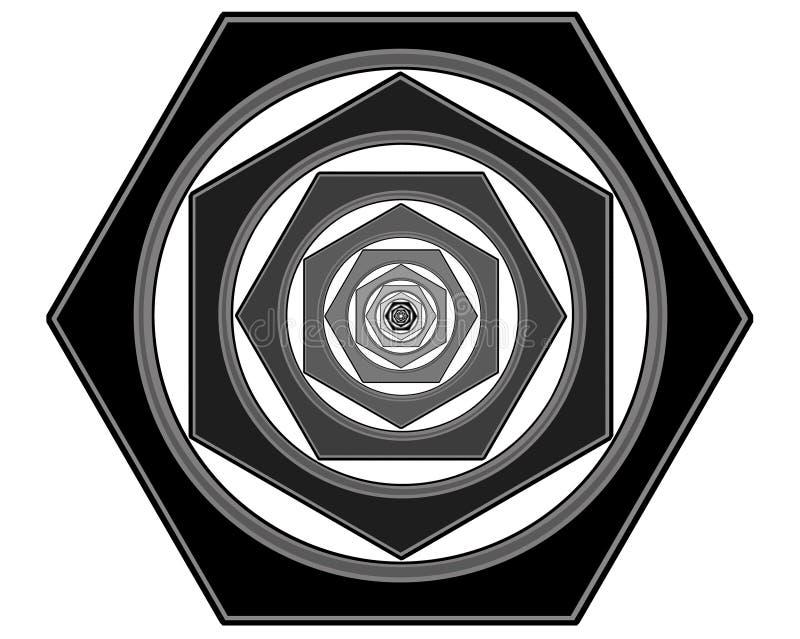 Utdragna diagram av bultar royaltyfria foton