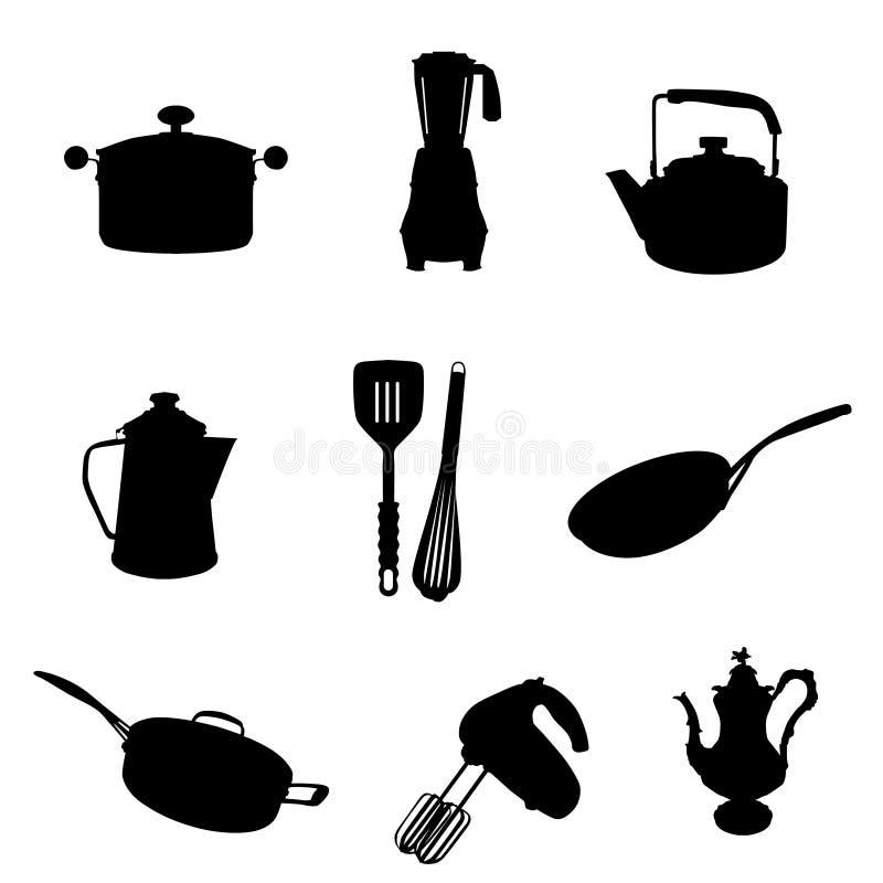 Utensílio da cozinha ilustração royalty free