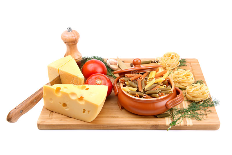 Utensílios do alimento e da cozinha fotografia de stock royalty free