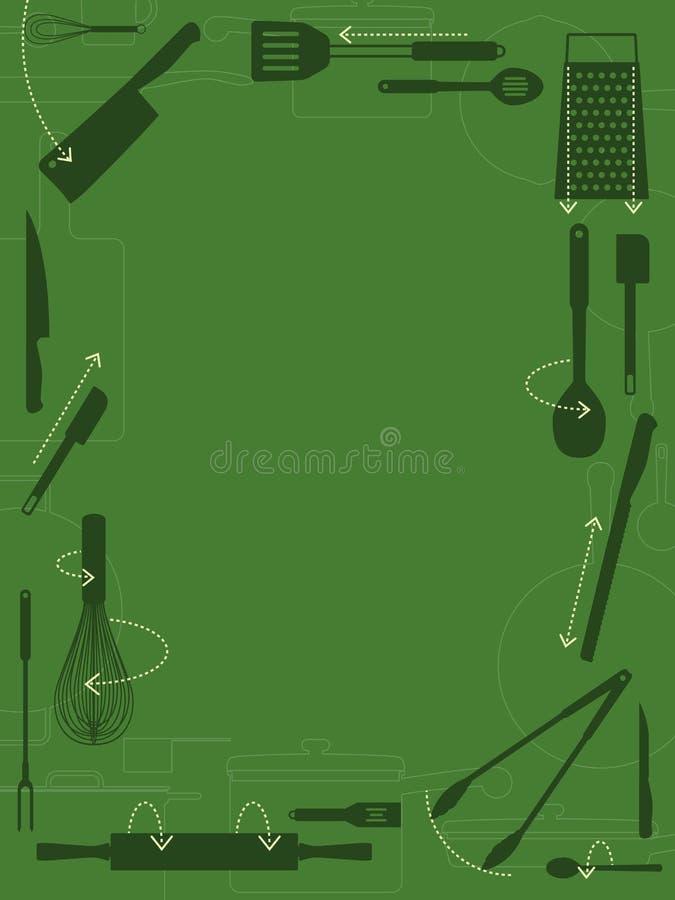 Download Utensil border stock vector. Illustration of rolling - 13268788