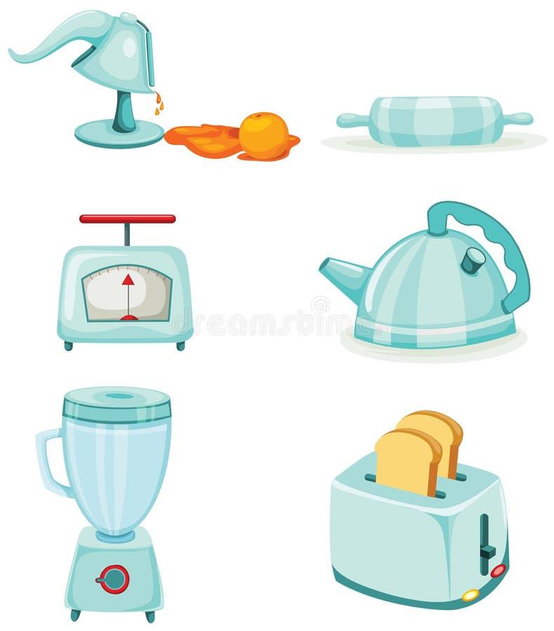 Utensile della cucina illustrazione vettoriale
