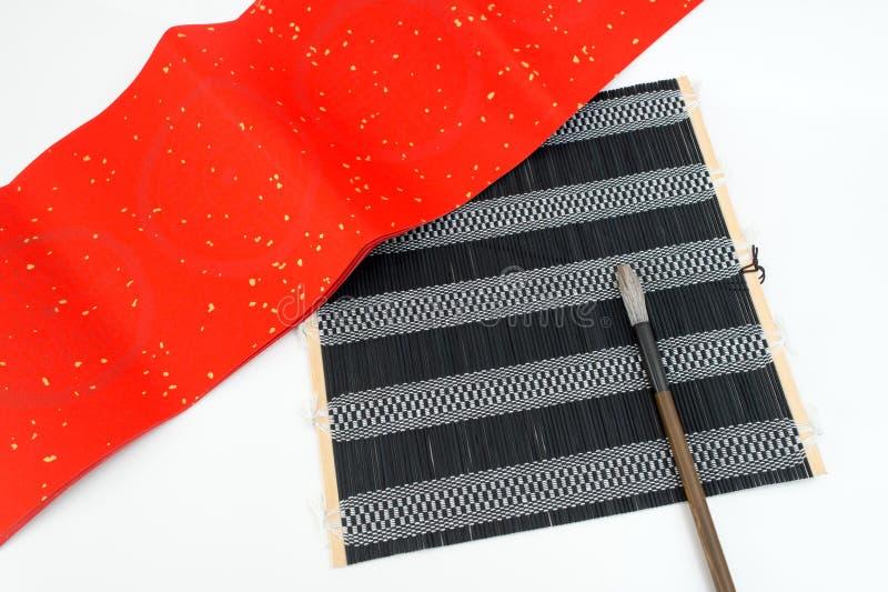 Utensile tradizionale cinese di calligrafia fotografia stock