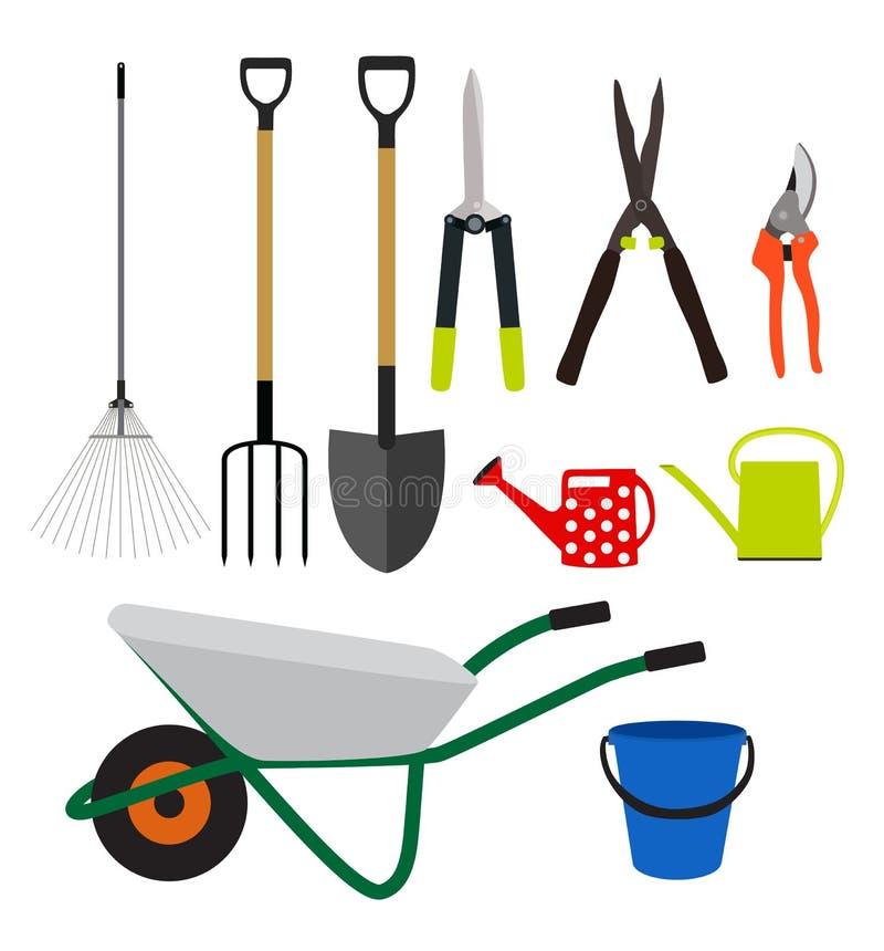 utensilios de jardiner a sistema plano de la colecci n