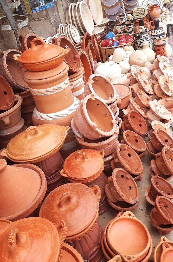 Utensilios de la cerámica fotografía de archivo