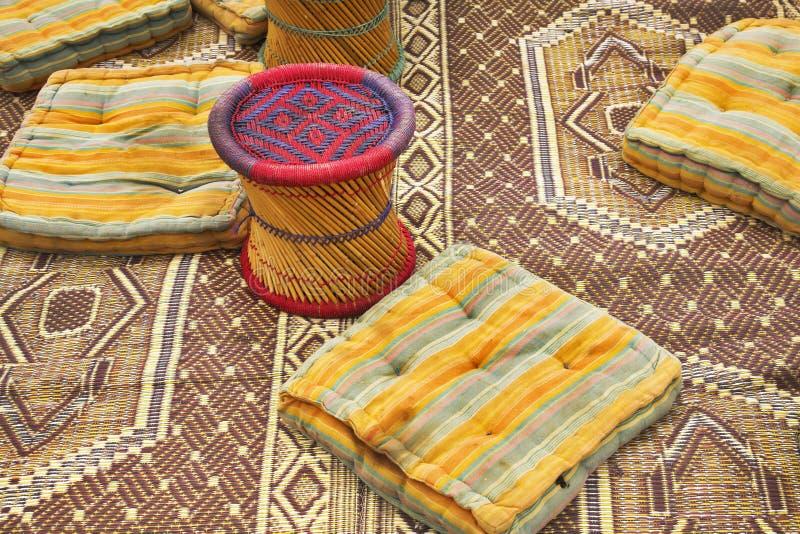 Utensils in bedouin tent