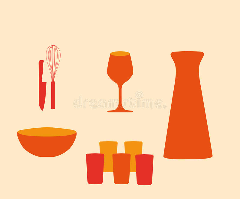 Download Utensils And Tableware Royalty Free Stock Photos - Image: 22871178