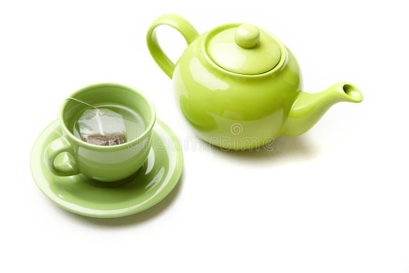 utför service tea arkivbild