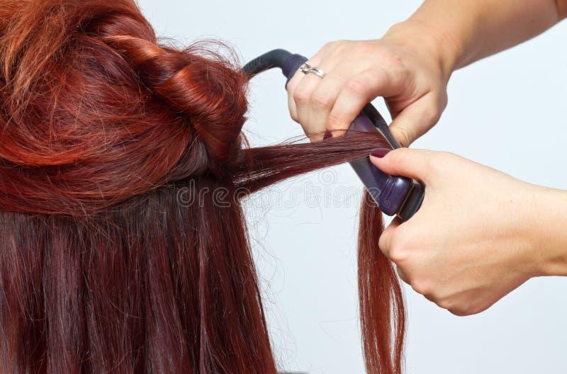 Utforma för hår arkivbild