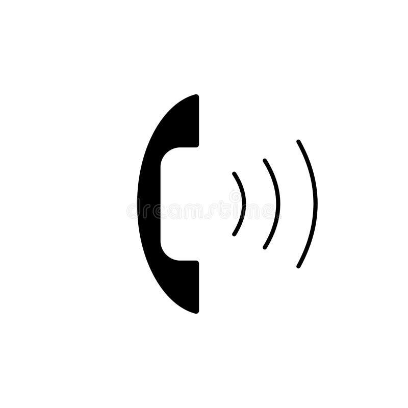 Utgående appell 2 för telefonlur vektor illustrationer