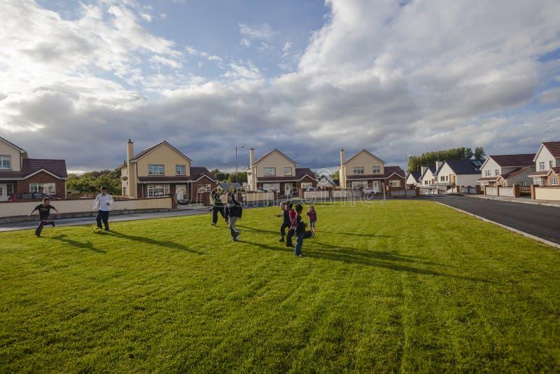 Download Utgångspunkter För Irland Barnfotboll Redaktionell Bild - Bild av spelrum, bild: 27287276