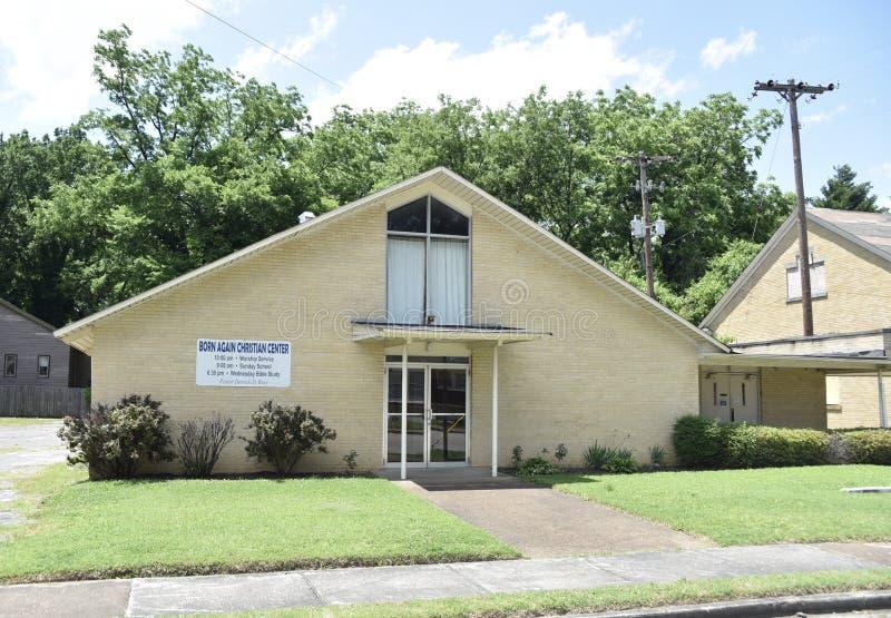 Uthärdade igen Christian Center, Memphis, Tennessee royaltyfria foton